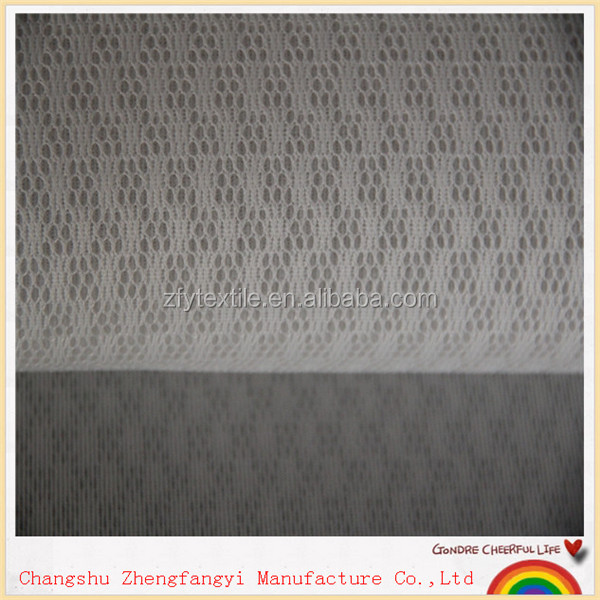 black and white striped knit fabric, 2015 new fashion mesh fabric