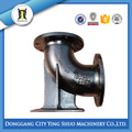 OEM SHELL MOLD CASTING DUCTILE IRON DOUBLE FLANGED BEND