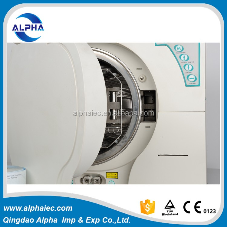 3-times pre-vacuum Class B dental steam sterilizer autoclave with printer 8L-23L