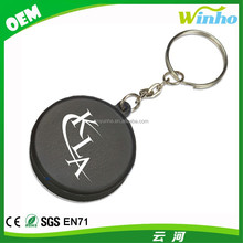 Winho Branded Hockey Puck Stress Reliever Key Ring