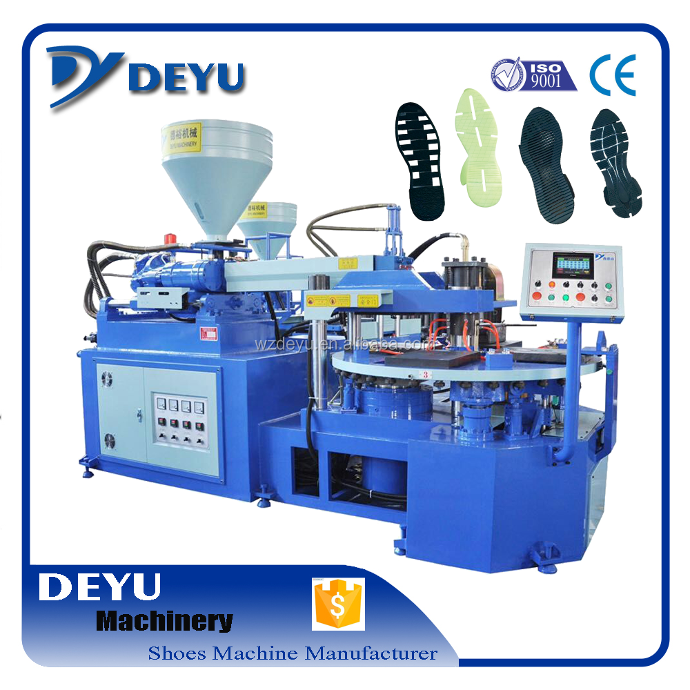sole making machine TPR PVC TPU One Color Sole Injection Machine