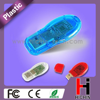 Color plastic drive 4GB promotion usb memory stick