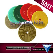 Dry polishing wet polishing pads for material hand tools machine diamond produbts