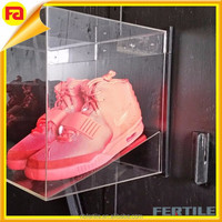 Acrylic Mountable Frame Clear Shoe Box Wall Display