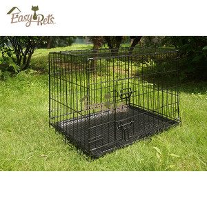 Small Green House Steel Bar Welded Dog Cage