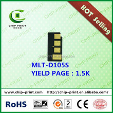 Hot sell! reset chip toner chips for samsung mlt-d105s chip reset