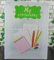 Clear Plastic mini box for Stationery(PP)