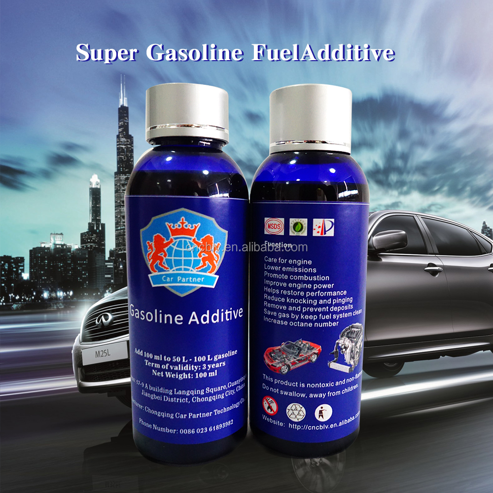 Fuel saver power booster engine oil treatment