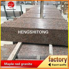 flamed maple red granite stone kerala building stone