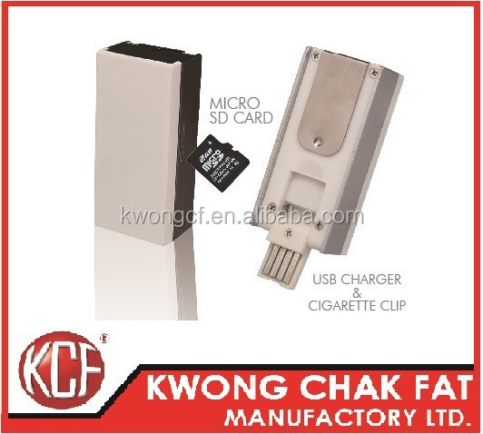 KCF-165 Promotional Gifts Metal Plastic Lighter USB Flash Driver