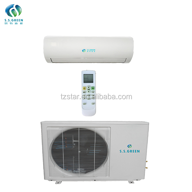 Solar  split air conditioner |   On-grid ACDC solar air conditioner     |  Hybrid solar air conditioner price   24000btu