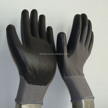 Super quality fashion nitrile coated gloves