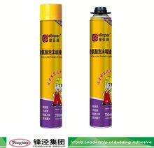 High viscosity excellent quality spray insulation pu foam sealant on sale