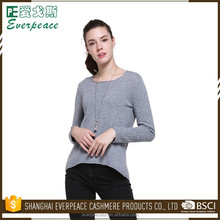 Woman's woolen pullover sweater new designs for ladies