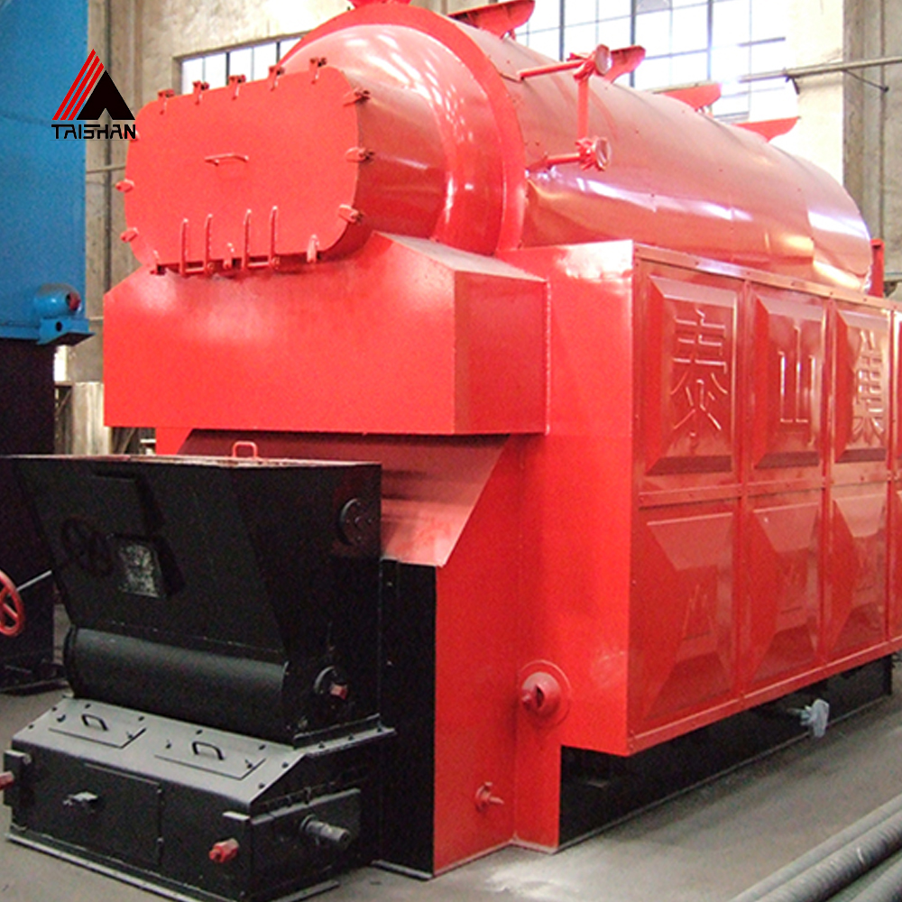 Small scales grate steam boiler