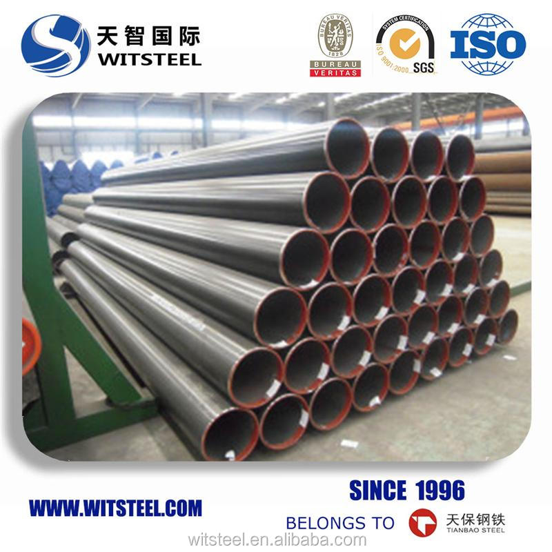 china supplier sch 40 ASTM A192 crude oil pipe and tube