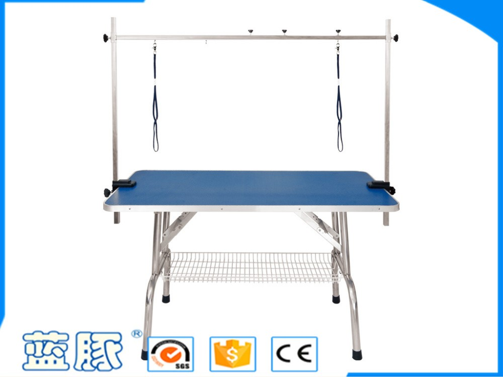 LT-1101H Stainless Steel Fordable Pet Grooming Table