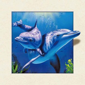 Latest new design cute animal designs 5D wall decorative painting