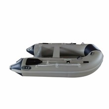 Cheap PVC/Hypalon 2.3 m hot sale V bottom inflatable fishing/race boat for sale supplier JSD-230VIB
