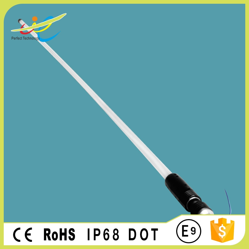 6feet 1.8meters RGB color change LED flagpole light for ATV, UTV, JEEP, RZR,Buggy
