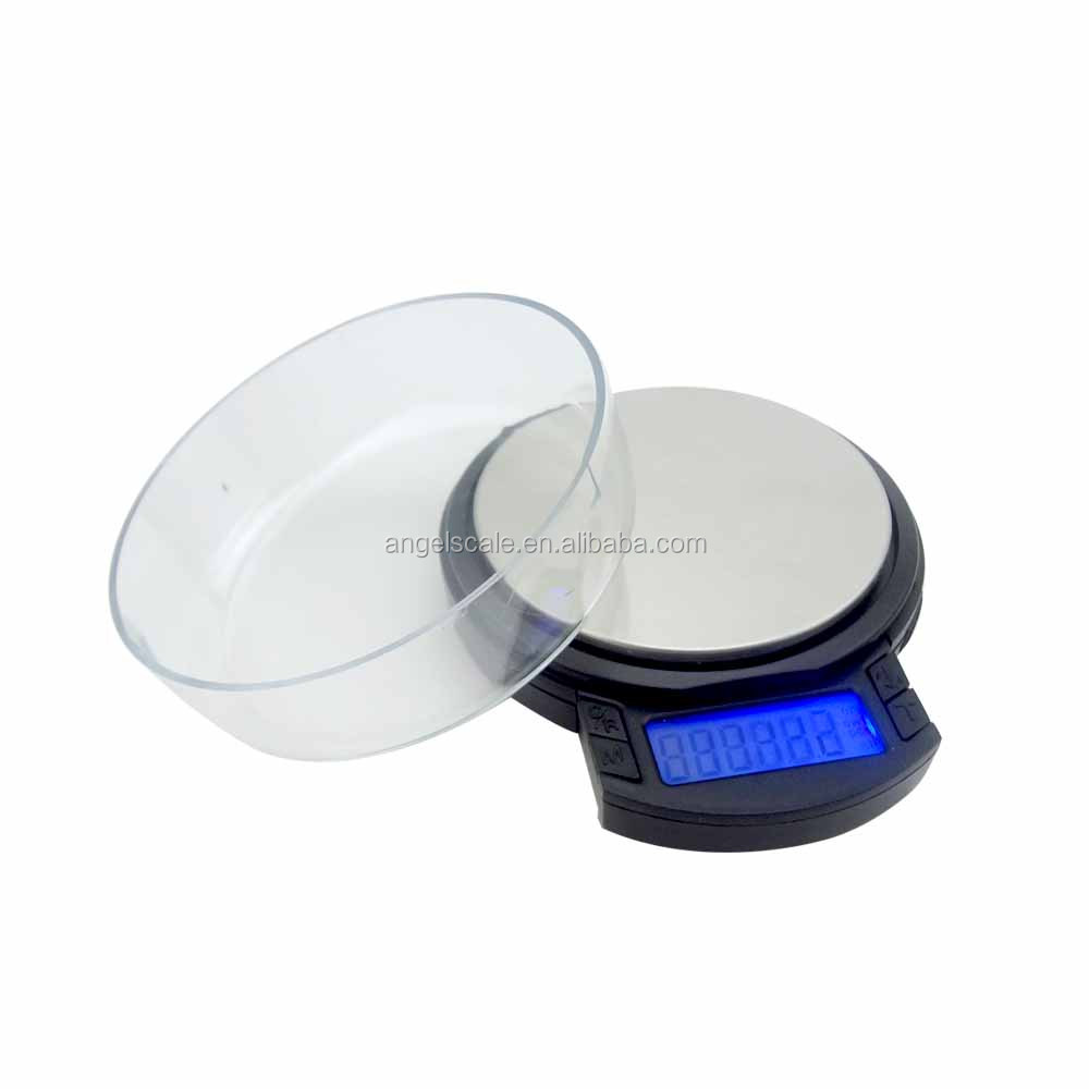 1000G/0.1G+500g/0.01g pocket jewellery electronic weighing scale