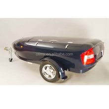Fire resistant hand lay up fiberglass travel trailer for sale