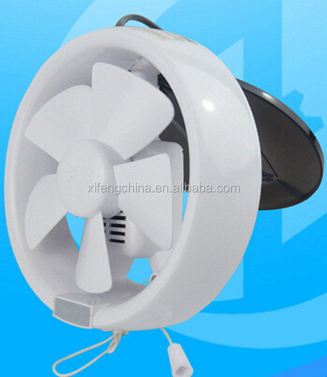 Wall mounted bathroom exhaust fan
