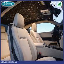 Decorative car roof top ceiling star light led fiber optic projector with 6W RGB LED and optional fiber cable
