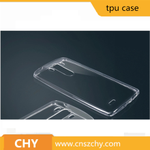 Hot Transparent soft tpu mobile phone case for lg g3