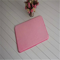 microfiber polyester rubber bathroom floor bath mats