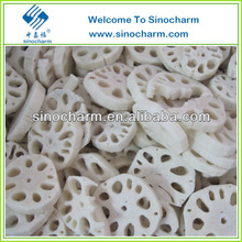 Market price of Frozen Lotus root slices for sale