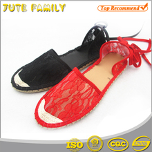 Ladies beautiful flat wedding shoes