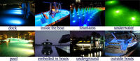 Pure White 36W IP68 LED Underwater Swiming Pool Lights