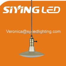 Wholesale Classic bronze gold color UFO light restaurant light retro light ce rohs approved