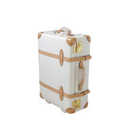 Vintage Travel Luggage Personalized Trolley Luggage