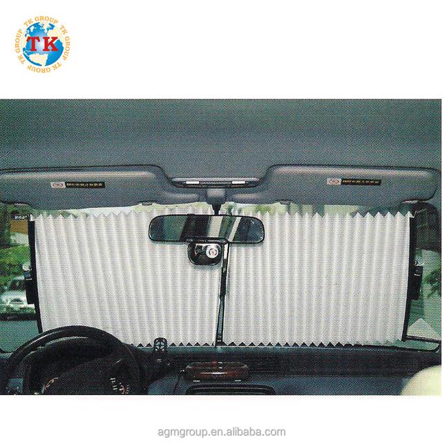 MADE IN TAIWAN UV Proof Anti-Dazzle Pop Up Windscreen car window Front Car Shade sun shade material