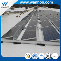 Solar Panel Support Structures Ballasted Solar Mounting System Flat Roof Ballasted Solar Mounting System