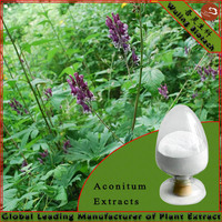 Aconite Root Extract powder 98% Lappaconitine ease pain