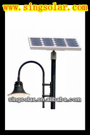 High power 90w solar led street lamps total system