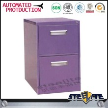 Top brand models office filing cabinet purple 2 drawer file cabinet made in China