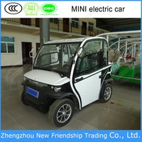 high quality 45 km/h electric car for sale MK D1 with 2 seats