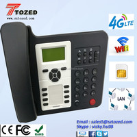 High quality 4G VOLTE and LTE wireless phone with dual sim