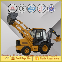 factory supply small backhoe loader /high quality hydraulic backhoe loader in china