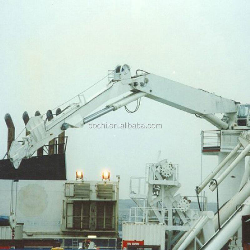 Telescopic Deck Cranes : Marine deck hydraulic knuckle telescopic boom crane buy