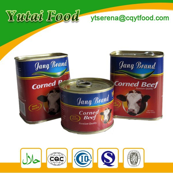 Canned Food Products Nutrition Food Corned Beef Halal Meat Wholesale