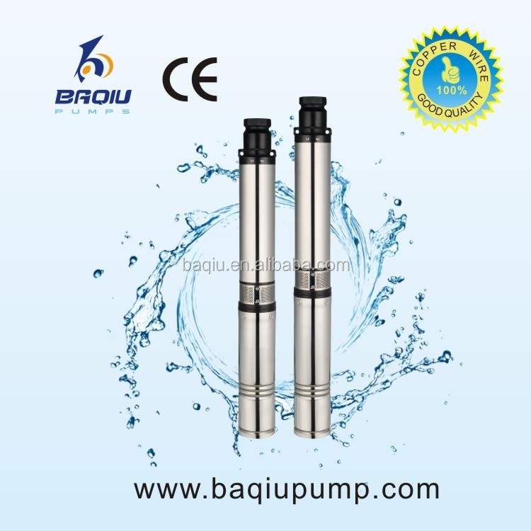 Centrifugal Theory Submersible Well Water Pump 10M bore deep well pump