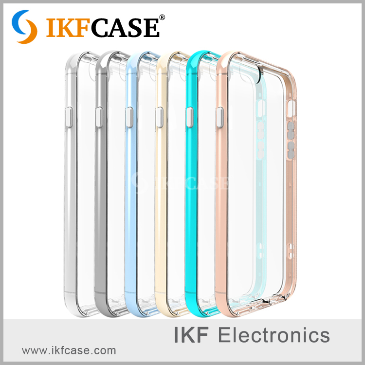 Manufacturer price PC + TPU Hybrid cell phone covers for iphone case