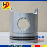 Guangzhou Supply 6D40T 6D40 Engine Alfin Piston Kit ME121199 135mm