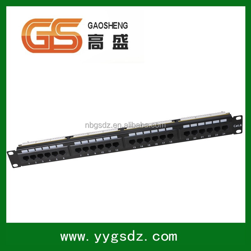Good Quality Network AMP Fiber Optic 16 Port Patch Panel 10""