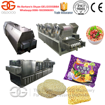 Machine Making Instant Noodles Production Line of Chinese GELGOOG Brand